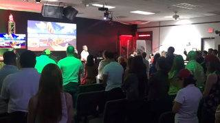 Amid fears of bloodshed, some Venezuelans turn to prayer in South Florida