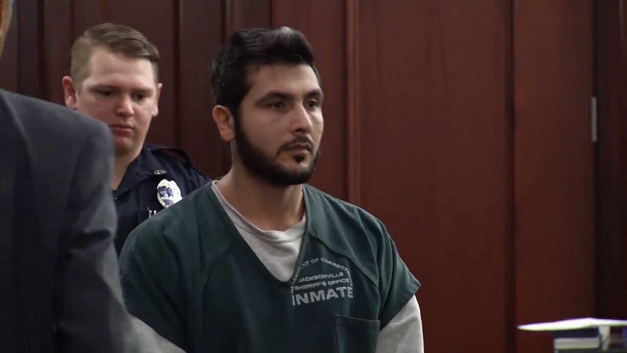Shooting Suspect in court