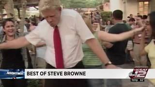 'Best of Browne': Steve Browne shows off best dance moves