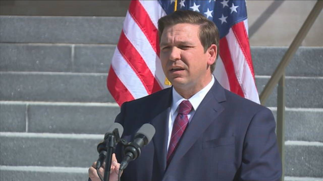 Gov. Ron DeSantis announces suspension of Susan Bucher