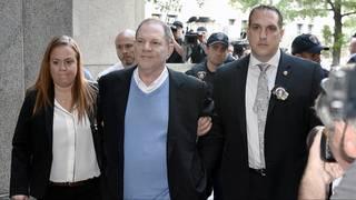 Celebrities react to Harvey Weinstein's arrest