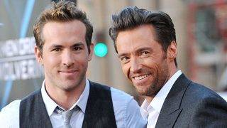 Ryan Reynolds Surprises Frenemy Hugh Jackman With a NSFW Birthday Message