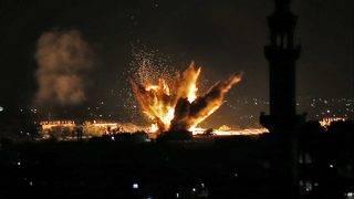 Israel blames Hamas for Tel Aviv attack, strikes Gaza targets