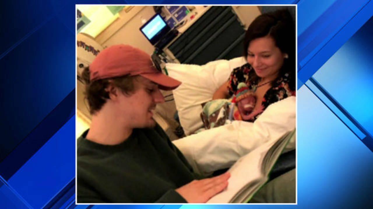 Alex Robinson and Lucas Zbinden with Maverick adoption custody battle 5