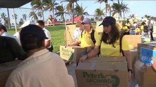 Groups, volunteers from around the world helping with Bahamas relief