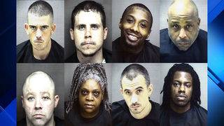 Eight indicted on drug charges in Amherst County after months-long operation