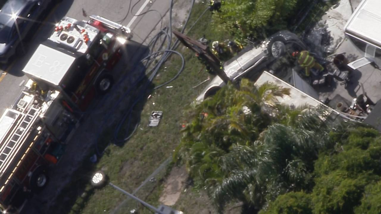 Suspect Crashes Stolen Truck After Police Chase On I 95