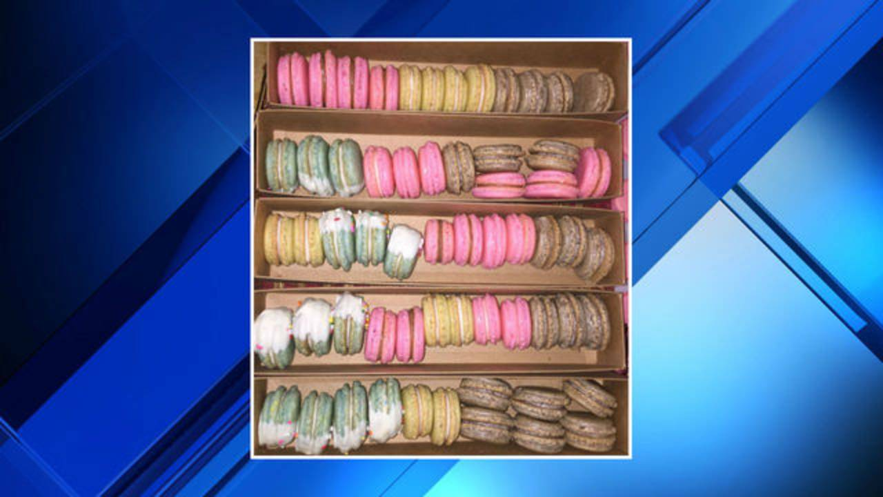 For The Love Of Sugar Bakery macaroons