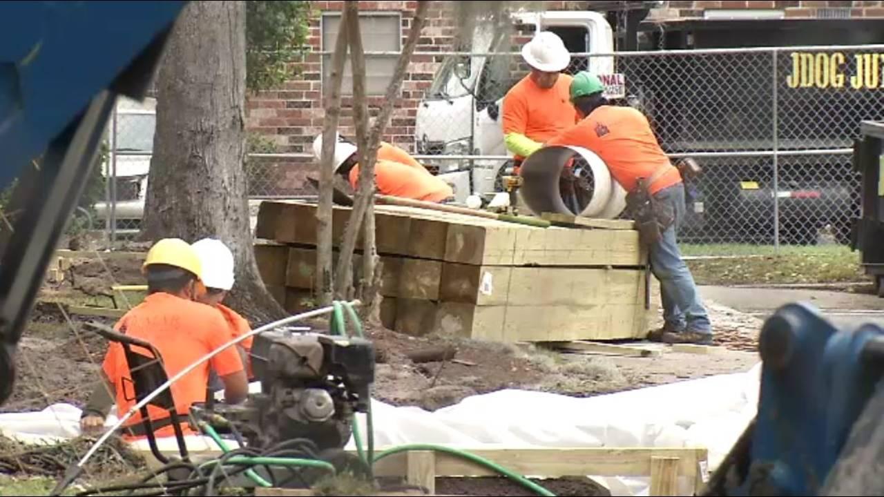 Eureka Gardens renovations