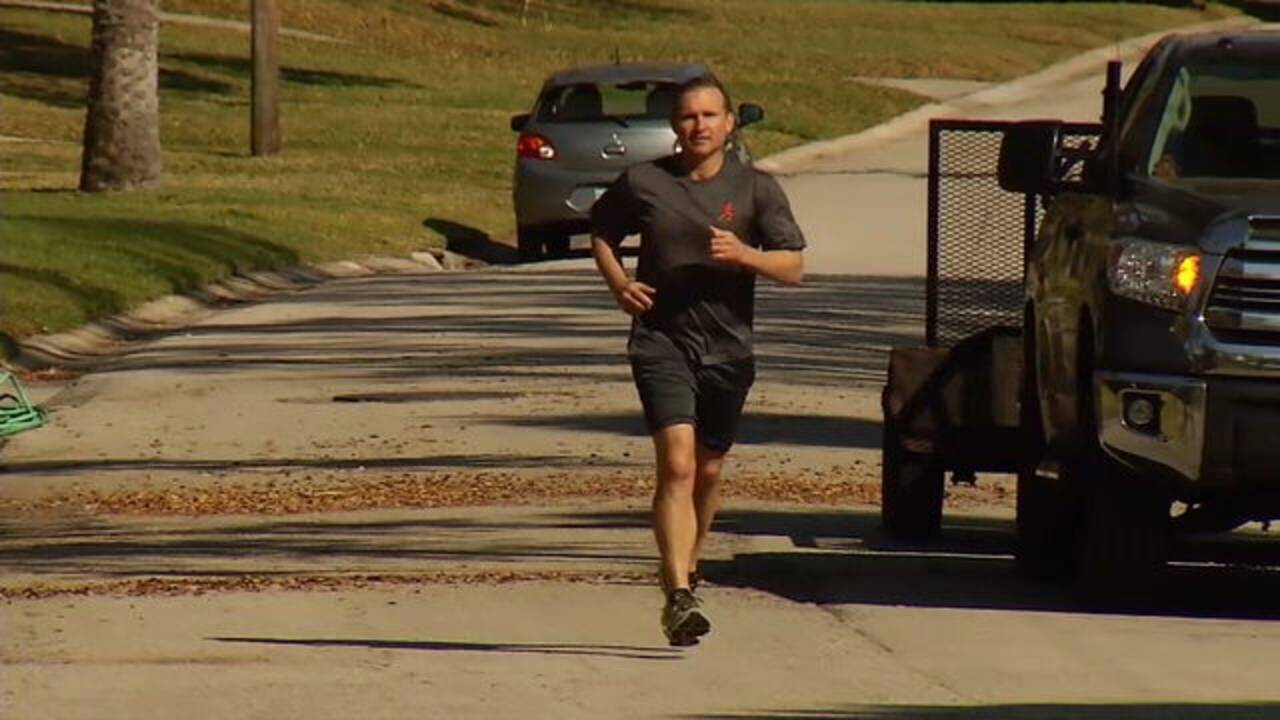 Lenny Curry running