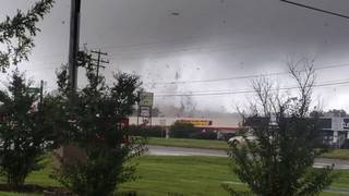 Confirmed tornado touched down near Richmond