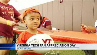 Virginia Tech hosts annual Fan Appreciation Day