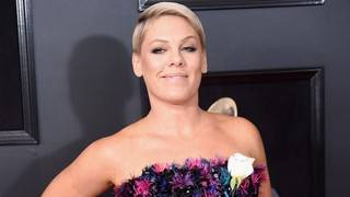 Pink Shares a Sweet Upside-Down Smooch With Son Jameson: See the Pic!
