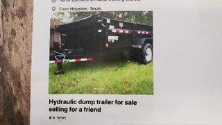 Police: Man sold stolen trailers on Facebook Marketplace