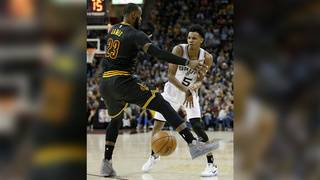 LeBron: '(Dejounte) needs to listen to Pop…he knows what the hell he's doing'