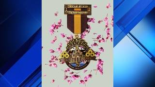 Texas State unveils first-ever Fiesta medal