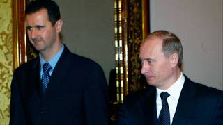 All 'foreign forces' to leave Syria, Putin tells Assad
