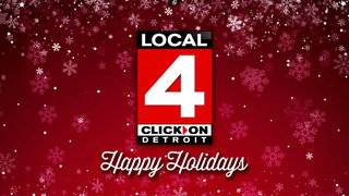 Happy Holidays from Local 4 and ClickOnDetroit!