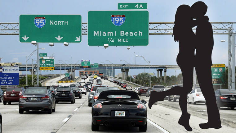 South Florida drivers would trade sex for less traffic