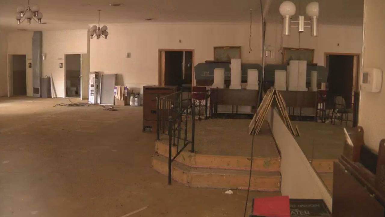 Inside former Cantrell Funeral Home in Detroit