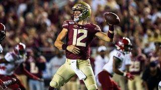 Hornibrook fills in, leads Florida State past NC State