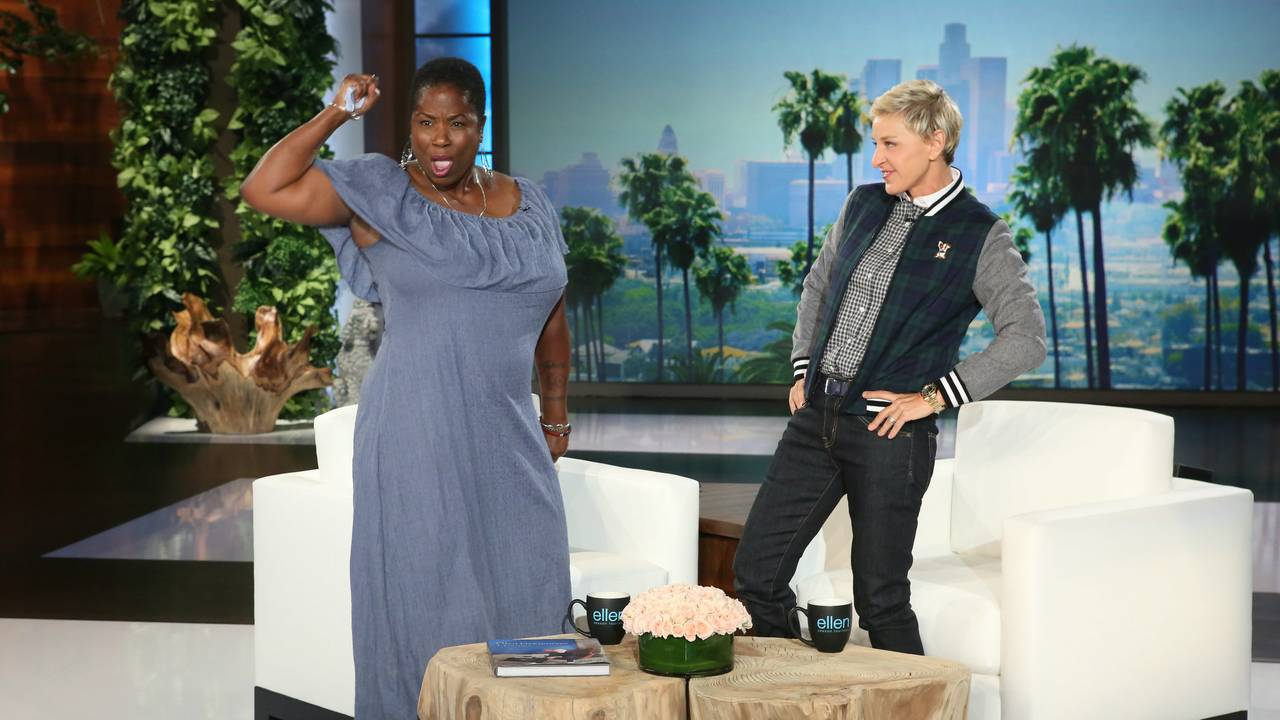 Shu Harris on Ellen_1473882979455.JPG