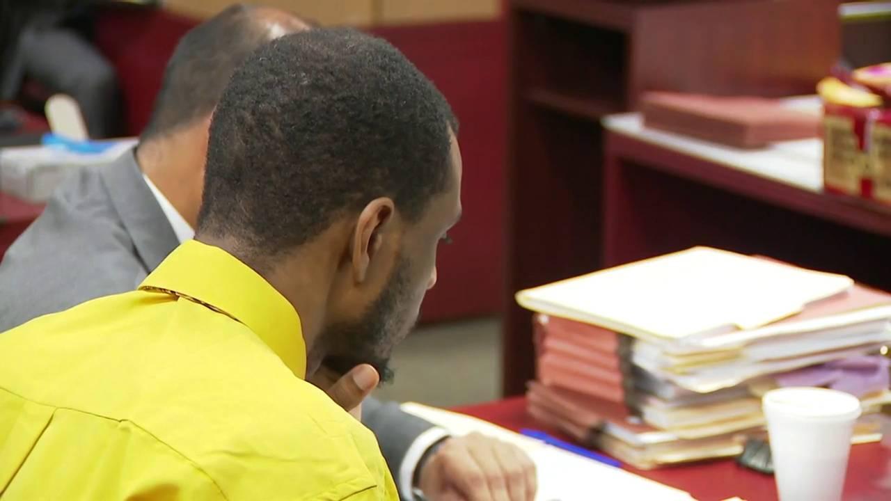 Byron Mitchell in court as Danielle Jones testifies June 6