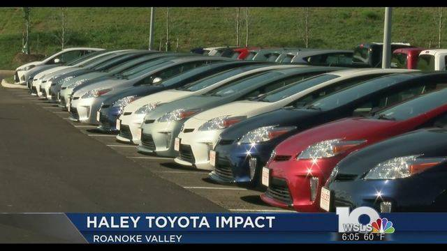 Haley Toyota Roanoke >> Haley Toyota Move Strengthens Car Buying Experience In Roanoke