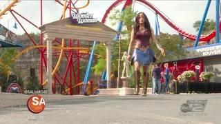More FUN at Fiesta Texas! New Wonder Woman coaster opens Saturday