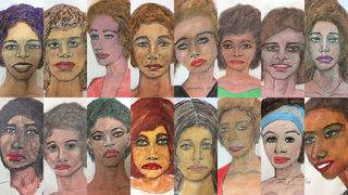 FBI releases victim portraits drawn by 'prolific' serial killer