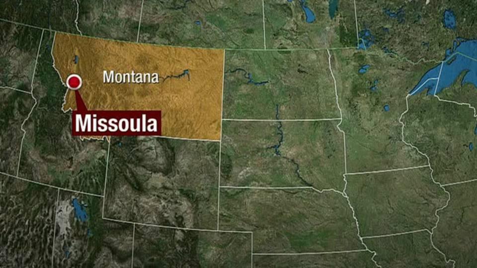 Missoula Montana map