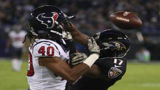 Suggs, Ravens get defensive in 23-16 win over Houston Texans