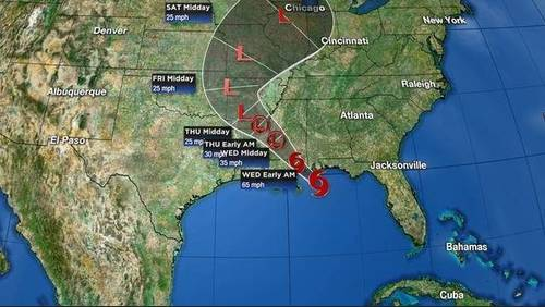 Tracking the tropics: Gordon makes landfall near Alabama-Mississippi border
