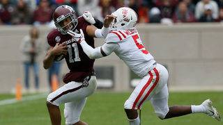 Mond accounts for 4 TDs as A&M gets 38-24 win over Ole Miss