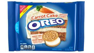 Oreo Introduces Newest Cookie Flavor Carrot Cake Oreos