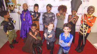 As 'Black Panther'-Mania Sweeps the Nation, Kids Stage Photo Shoot&hellip&#x3b;
