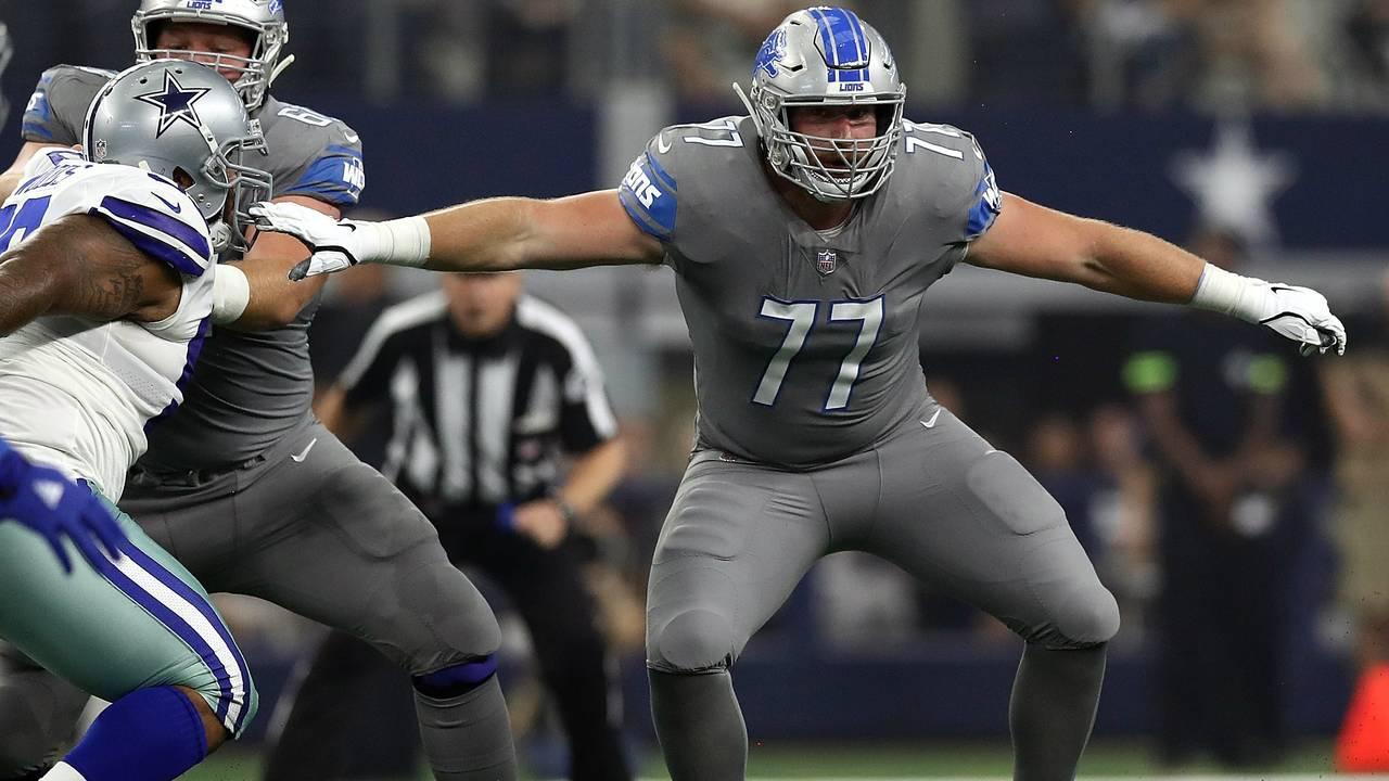Frank Ragnow Detroit Lions vs Cowboys 2018