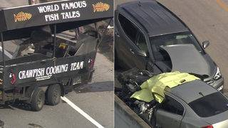 Food trailer involved in deadly Montgomery County crash