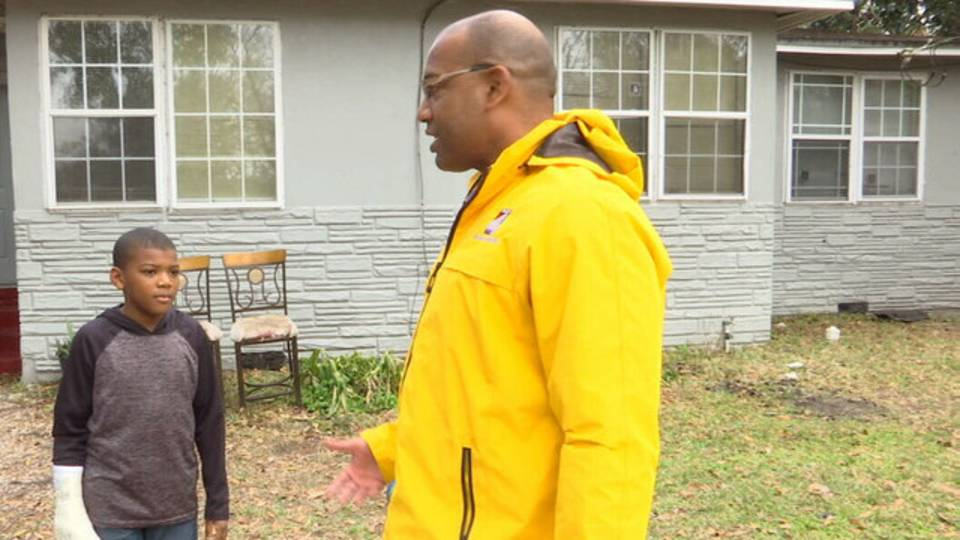 Jamel Smith talks with News4Jax report Erik Avanier