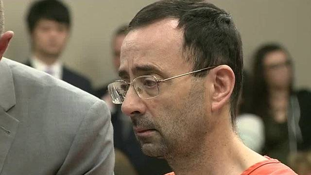 Michigan Sports Doctor Nassar To Appeal Prison Sentence For