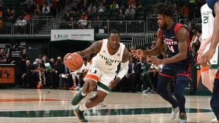 Izundu's double-double leads Miami past FAU 75-55