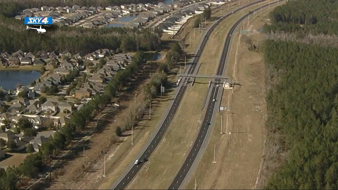 First Coast Expressway aerial