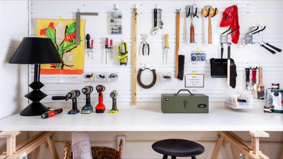 1230 Olivia Ave Workroom tools