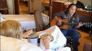 Music, art allow caregivers to spend devoted self-care time