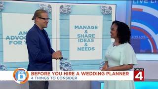 4 things to consider before hiring a wedding planner
