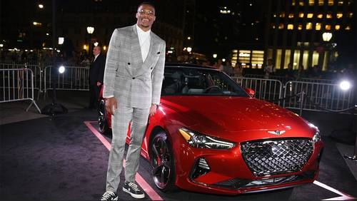 Closer look at Russell Westbrook's top 5 outfits