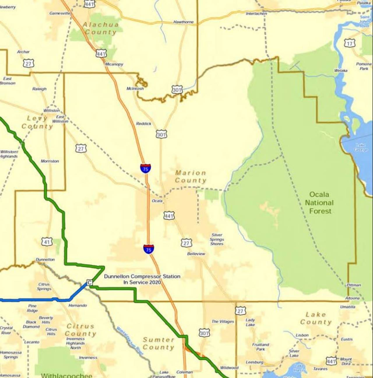 Marion County proposed pipeline