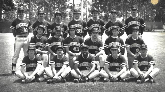 florida state university baseball team 1975