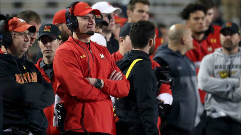 DJ Durkin Maryland vs Penn State 2017