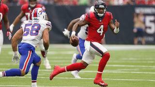 Joseph's INT return for TD lifts Texans over Bills 20-13